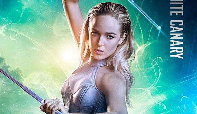 Legends of Tomorrow için karakter posterleri paylaşıldı