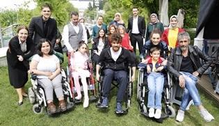 Zalim İstanbul, Engelliler Haftası sebebiyle sette misafirlerini ağırladı!