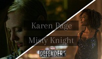 Deborah Ann Woll ve Simone Missick, The Defenders