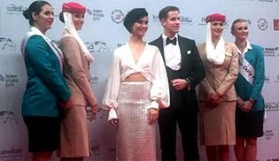 13. Dubai Film Festivali'nin gözde konuğu Tuba Büyüküstün oldu!