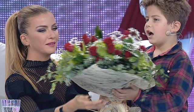 Ivana Sert'e oğlu Ateş'in sürprizi