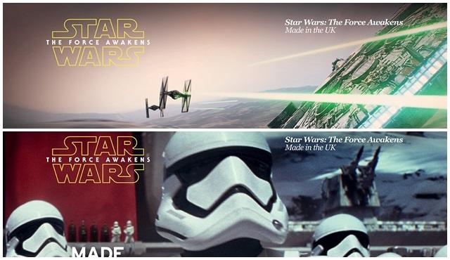 Disney, Lucasfilm ve The Great Britain Kampanyası güçlerini birleştiriyor!