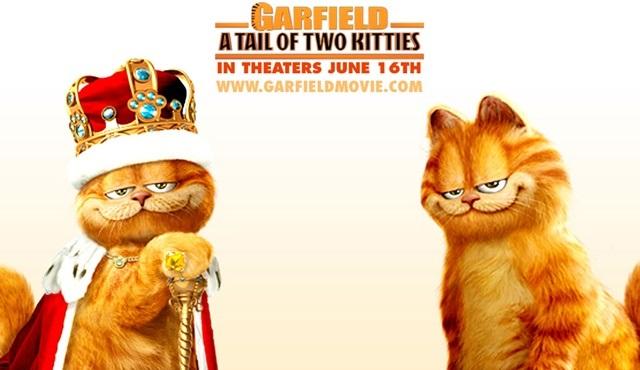 Garfield 2 filmi atv'de ekrana gelecek!