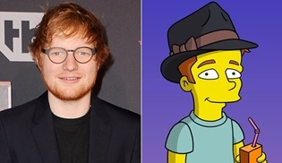 Ed Sheeran, The Simpsons'a da konuk olacak