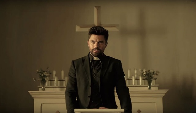 AMC'nin yeni dizisi Preacher için bir tanıtım daha geldi