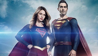 Supergirl'den Superman'li yeni bir video geldi