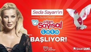 Seda Sayan'ın sunacağı Çılgın Sayısal Loto çekilişi TV8'de ekrana gelecek!