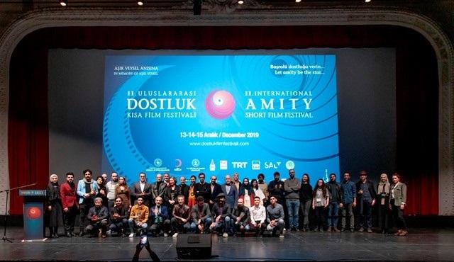 Uluslararası Dostluk Kısa Film Festivali'nde ödüller sahiplerini buldu!