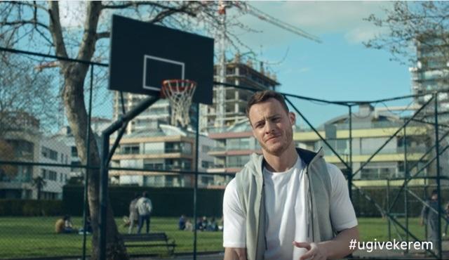 Garanti Bankası'nın son reklam yıldızı Kerem Bürsin oldu!