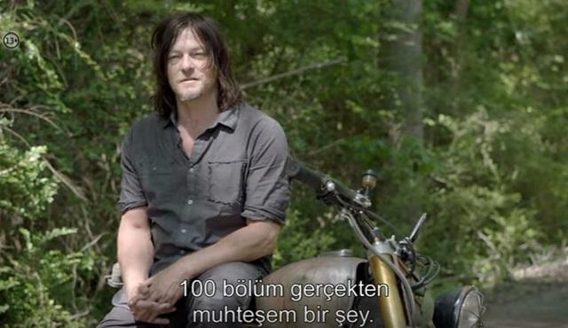 The Walking Dead'in 100.bölümü için özel bir video yayınlandı