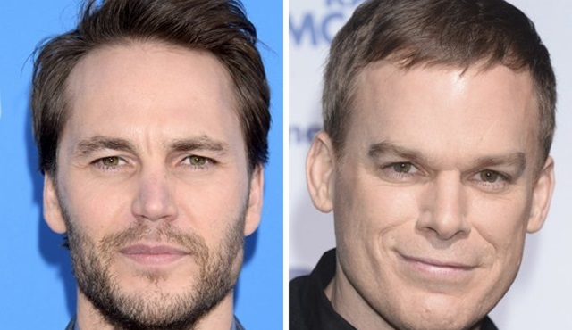 Michael C. Hall ve Taylor Kitsch, Shadowplay dizisinin kadrosunda