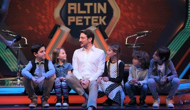 Altın Petek 23 Nisan özel bölümünde çocuk oyuncular yarıştı!