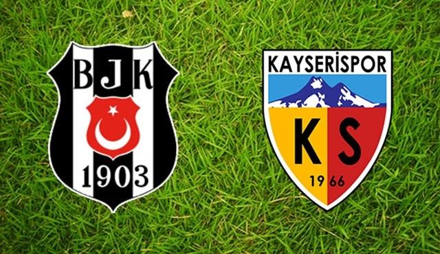 Beşiktaş - Kayserispor maçı ATV'de ekrana gelecek!
