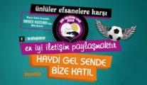 Ünlü oyuncular ve efsane futbolcular Lösemili çocuklar için sahada!