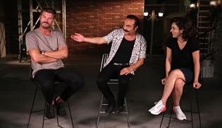 Kıvanç Tatlıtuğ, Yılmaz Erdoğan ve Ezgi Mola, Organize İşler filmini anlattı!