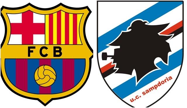 Barcelona - Sampdoria Gampher Kupası maçı canlı yayınla TV8'de!