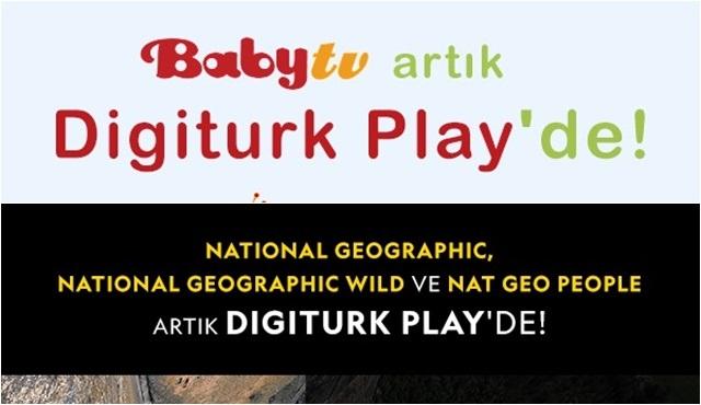 Digiturk Play'in bünyesine yeni kanallar katıldı!