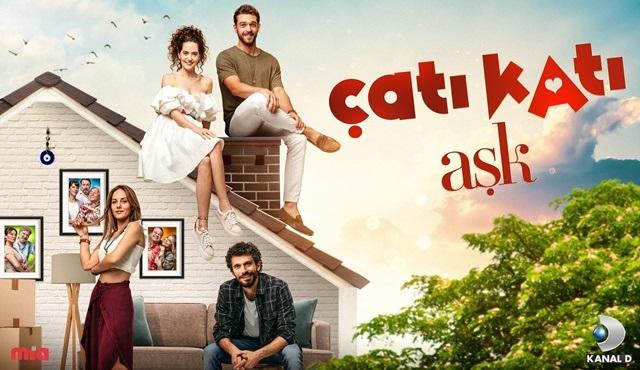 Çatı Katı Aşk dizisinin afişi yayınlandı!