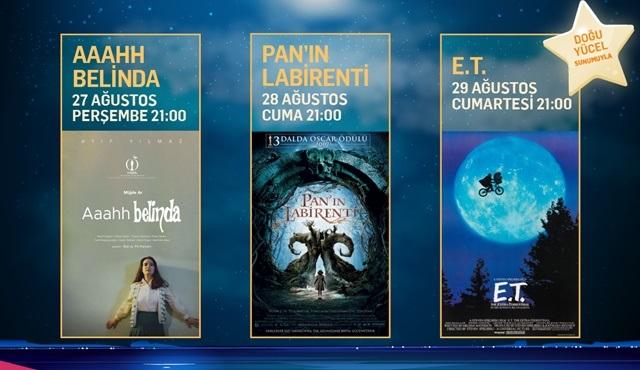 AçıkhavADA Sinema, fantastik ve bilim kurgu türündeki filmleri sinemaseverlerle buluşturacak!