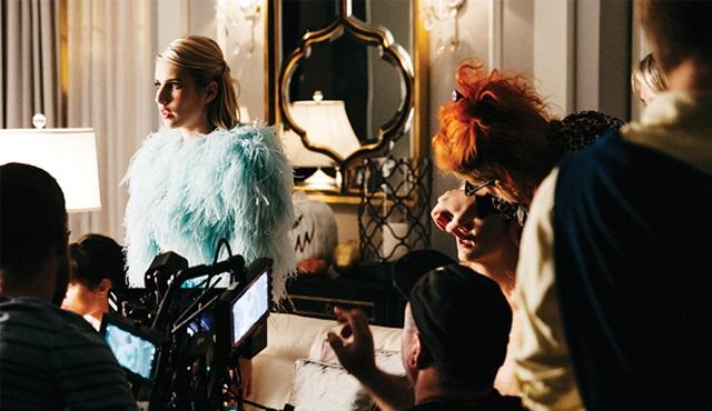 Scream Queens: Dizinin kamera arkasından ilk kareler