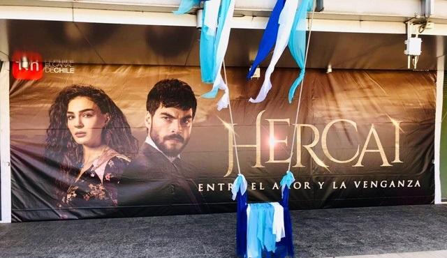 Şili'de Hercai dizisinin rüzgarı esiyor!