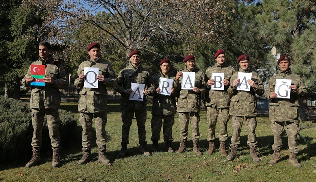 Savaşçı'dan tarihinde ilk kez Şampiyonlar Ligi'ne katılan Azerbaycan takımı Karabağ'a destek!