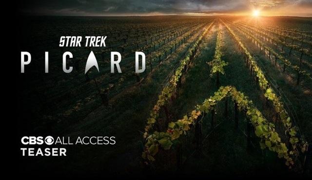 Star Trek serisinin yeni dizisi Star Trek: Picard'ın tanıtımı yayınlandı