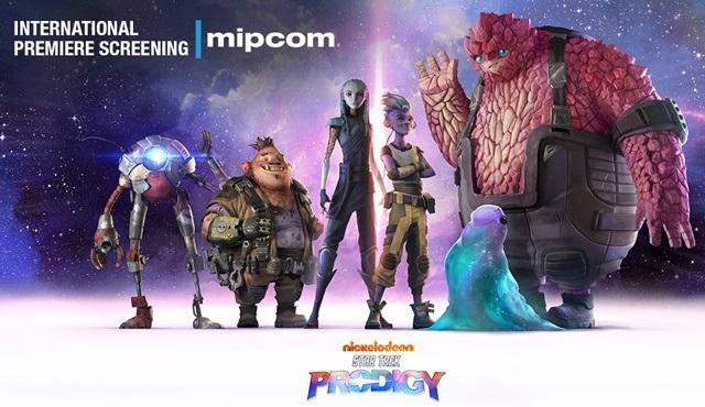 Star Trek: Prodigy, uluslararası prömiyerini MIPCOM'da gerçekleştirecek
