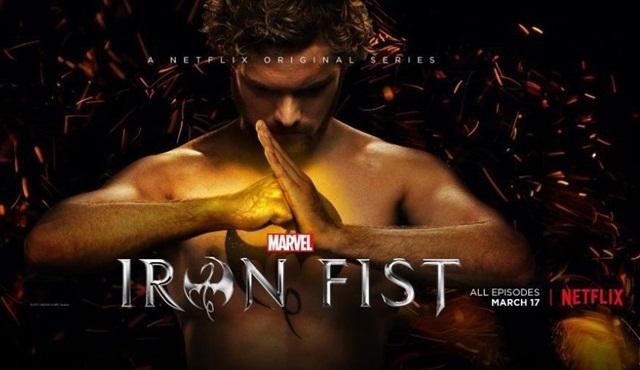 Netflix'in yeni dizisi Iron Fist'in resmi fragmanı yayınlandı