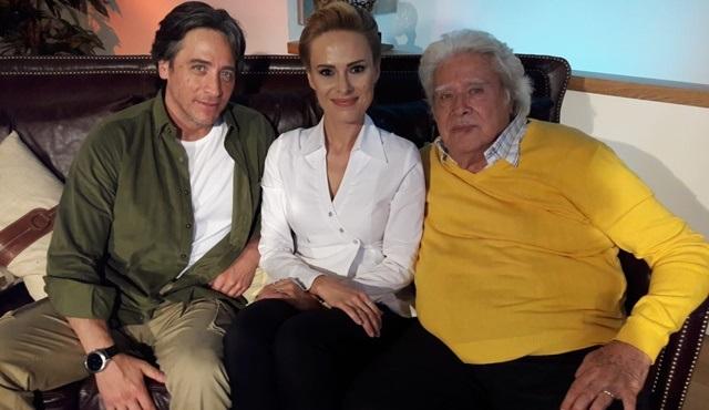 Cüneyt Arkın ve oğlu Murat Arkın'la birlikte NTV'ye konuk oldu!