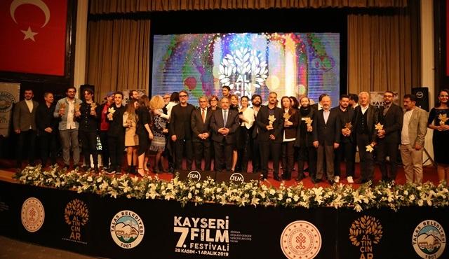 7. Kayseri Film Festivali'nde ödüller sahiplerini buldu!