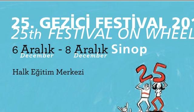 25. Gezici Festival'in ikinci durağı Sinop!