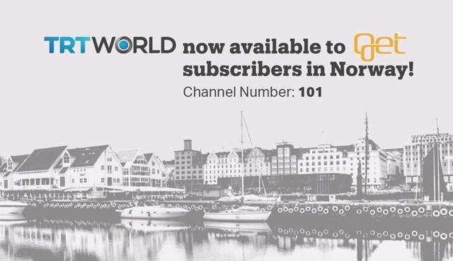 TRT World uluslararası yayın alanını genişletmeye devam ediyor!