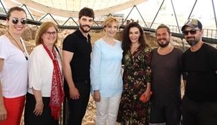 Romanya Prensesi Maria, Göbeklitepe'de Hercai ekibiyle bir araya geldi!