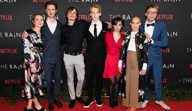 Netflix'in ilk Danimarka orijinal dizisi The Rain'in prömiyeri Kopenhag'da gerçekleştirildi!
