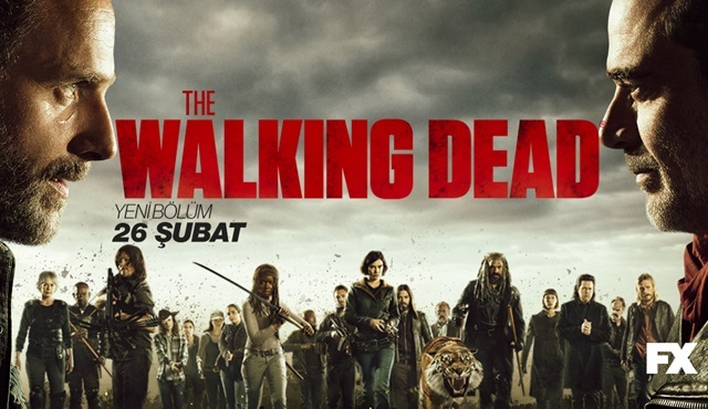 The Walking Dead, 8. sezonun yeni bölümleriyle Şubat'ta geri dönüyor!