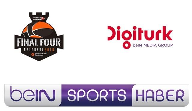 Dörtlü Final maçları şifresiz olarak beIN SPORTS HABER HD'de!