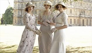 Downton Abbey'in mazide kalan kostümleri