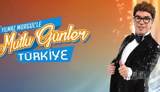 Yılmaz Morgül, Mutlu Günler Türkiye ile TV8'de!