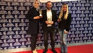 İstanbul Gelişim Üniversitesi'nden Turkuvaz Medya Grubu'na üç ödül geldi!