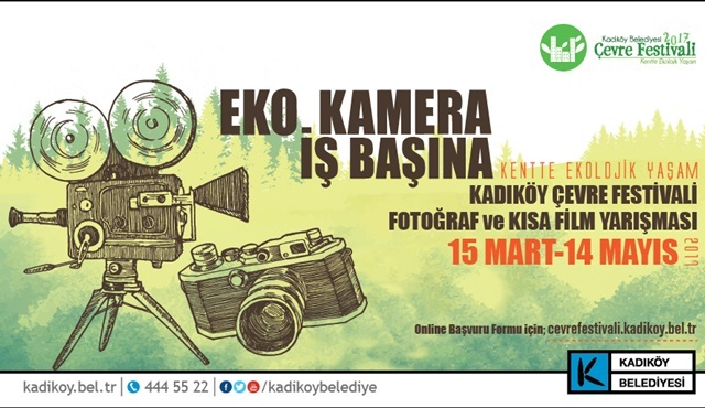 Kadıköy Çevre Festivali Fotoğraf ve Kısa Film Yarışması başvuruları devam ediyor!