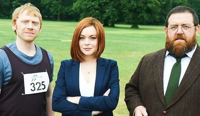 Lindsay Lohan, Sick Note dizisinin kadrosuna katıldı
