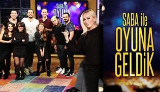 """""""Saba İle Oyuna Geldik"""" yeni bölümleriyle TV8'de!"""