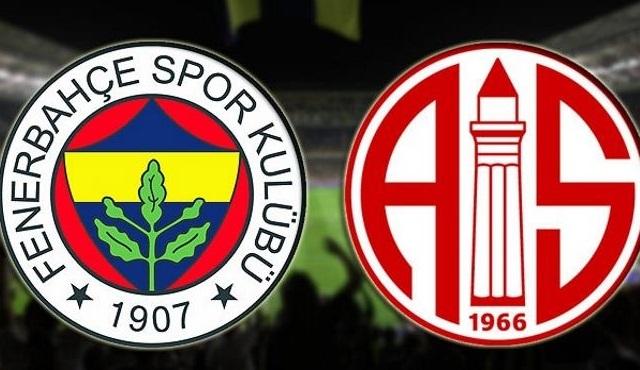 Fenerbahçe - Antalyaspor Ziraat Türkiye Kupası maçı ATV'de ekrana geliyor!