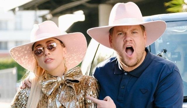 Carpool Karaoke'ye Lady Gaga konuk oldu
