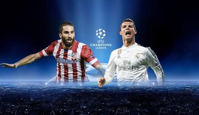 Şampiyonlar Ligi Maçı : Atletico Madrid – Real Madrid