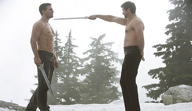 Oliver vs. Ra's al Ghul