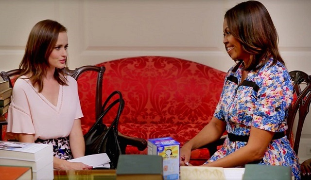 Let Girls Learn: Rory Gilmore & Michelle Obama buluşması