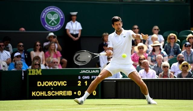 Wimbledon erkekler finali 14 Temmuz'da DMAX'te ekrana gelecek!
