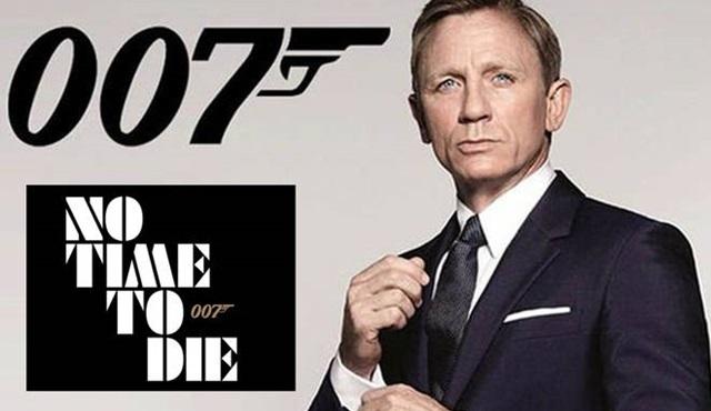 James Bond serisinin yeni filmi No Time to Die, Nisan 2020'de sinemalarda